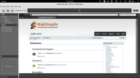 Nightingale extensions